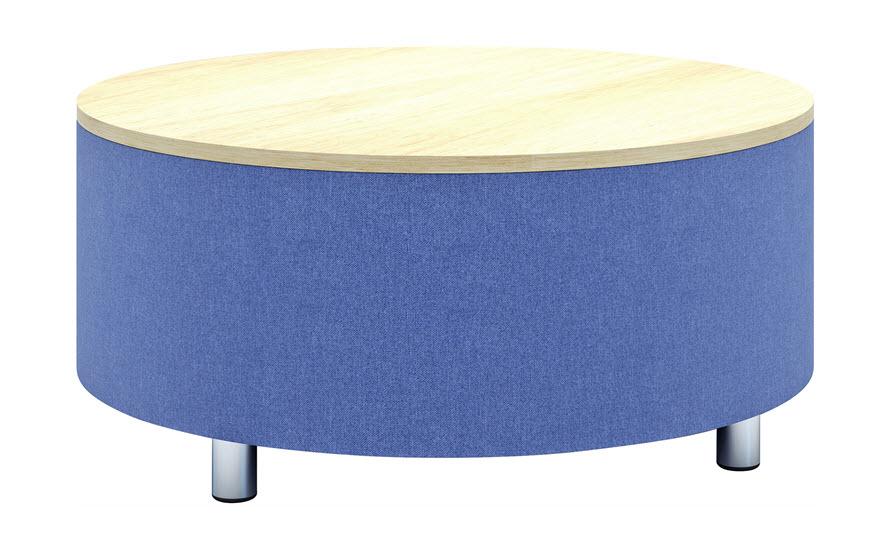 Julia Drum Coffee Table | HPL Top