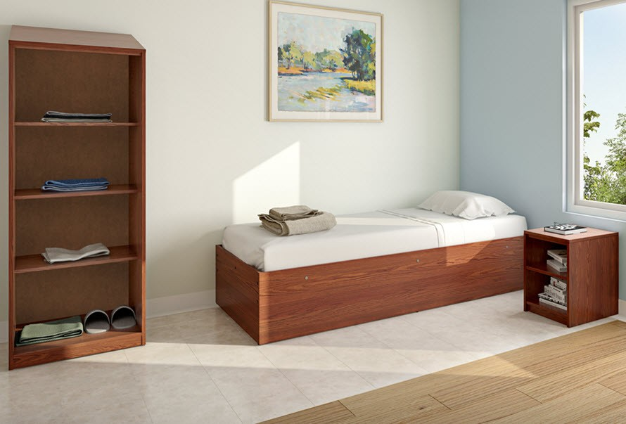 Passages Platform Bed